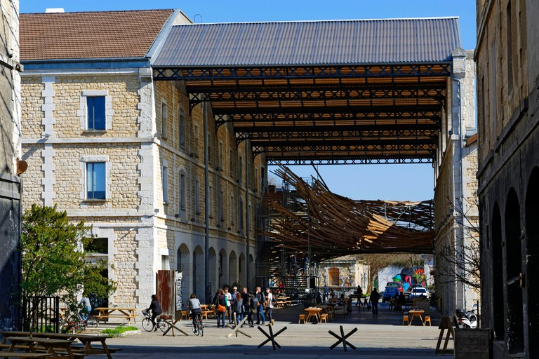 France, Gironde, Bordeaux, area classified as World Heritage, Darwin Eco Systeme, Land for innovative projects