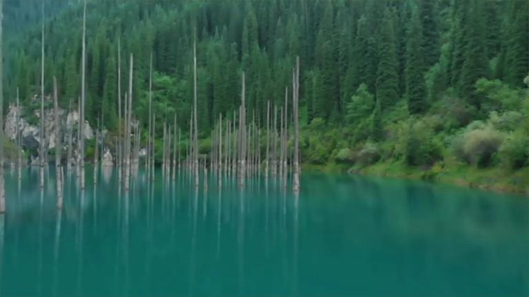 Kaindy Lake 1