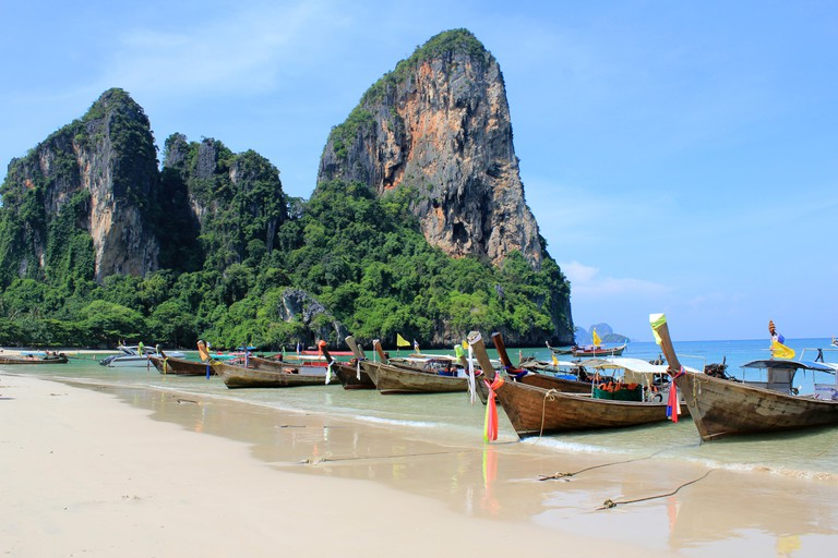 Beaches of Railay in Krabi, Thailand