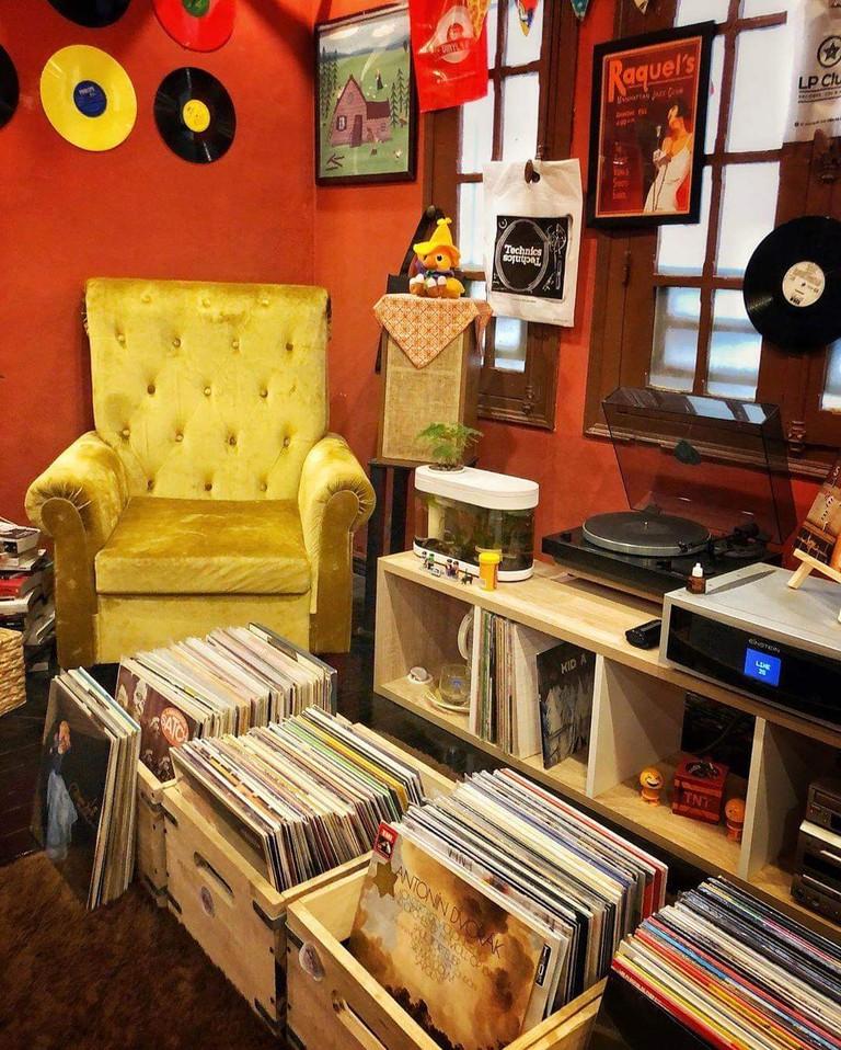 interior of LP Club, Hanoi