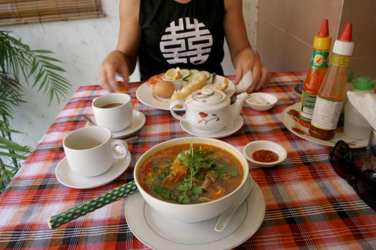 Vietnamese brunch, Hoi An