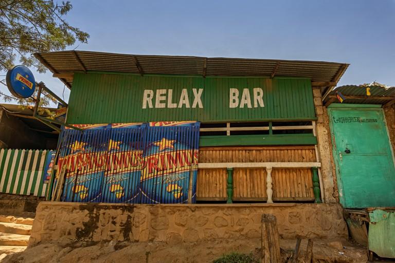 A bar in Kigali