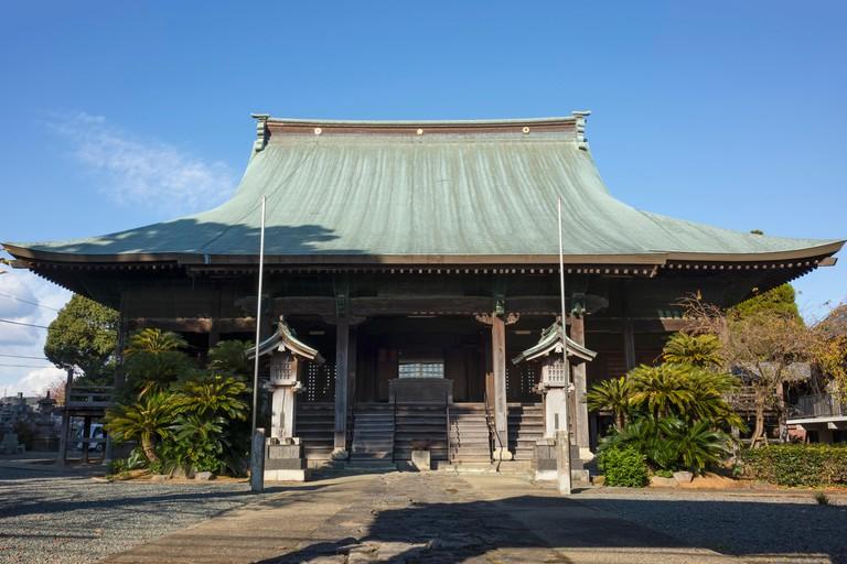 Sub temple of the Honmyo-ji Temple, a Buddhist temple