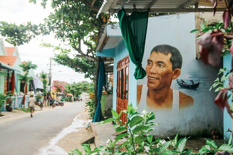 Mural Village-Hoian-Vietnam