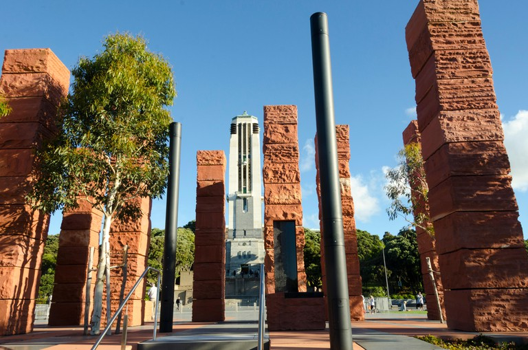 National war memorial and sculptures, Pukeahu National War Memorial Park