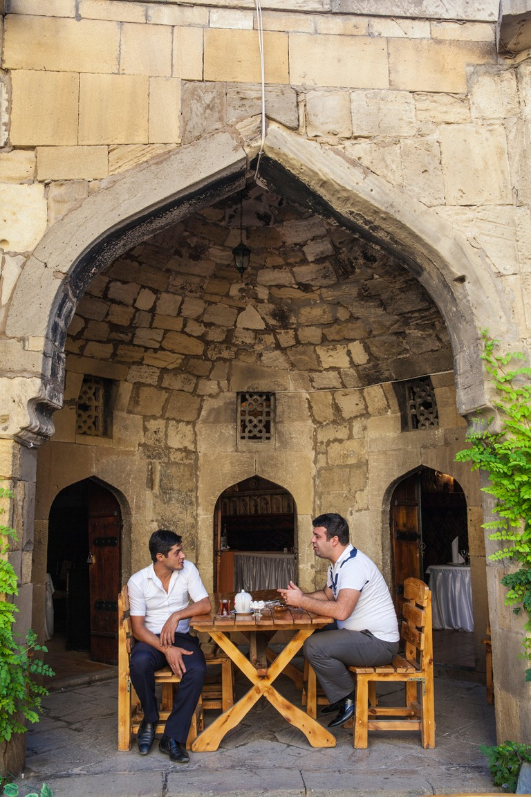 Azerbaijan, Baku, The Old Town - Icheri Sheher, Caravanserai