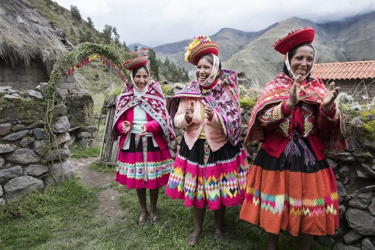 Women Greeting Tourism