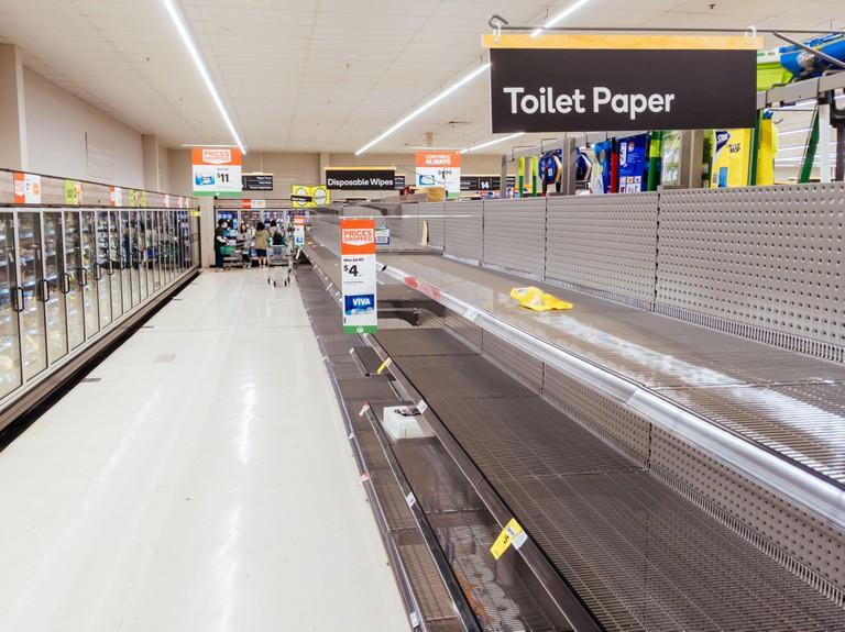 Panic Buying at Australian Supermarkets due to Corona Virus Fears