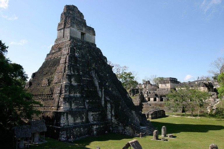 The superb Mayan ruins at Tikal