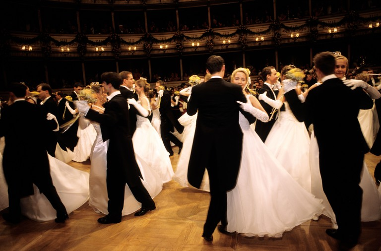 The waltz at the Opera Ball at the Staatoper in Vienna.