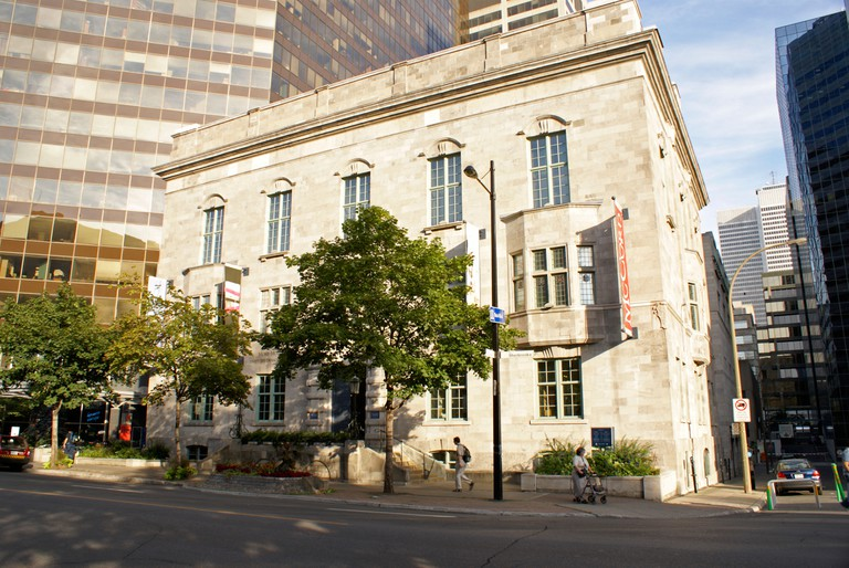 The McCord Museum of Canadian History on Sherbrooke Street, Montreal, Quebec, Canada. Image shot 10/2008. Exact date unknown.