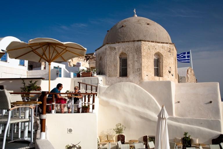 Oia Santorini Cyclades Greece
