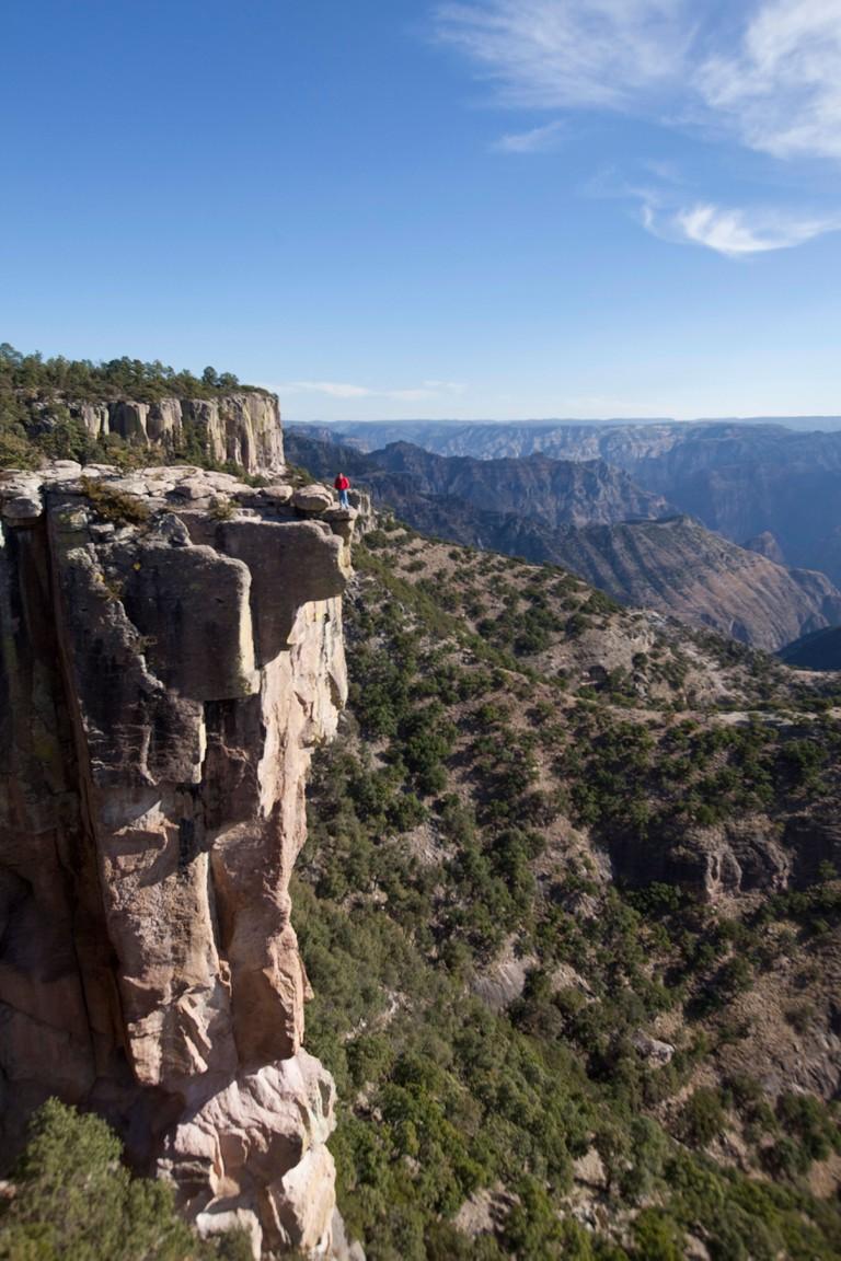 Piedra Volada Divisadero lookout Copper Canyon Chihuahua Mexico