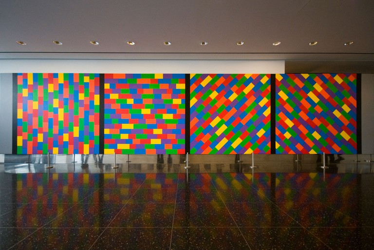Art installation in the Museum of Modern Art, MOMA, New York, USA. Image shot 11/2008. Exact date unknown.