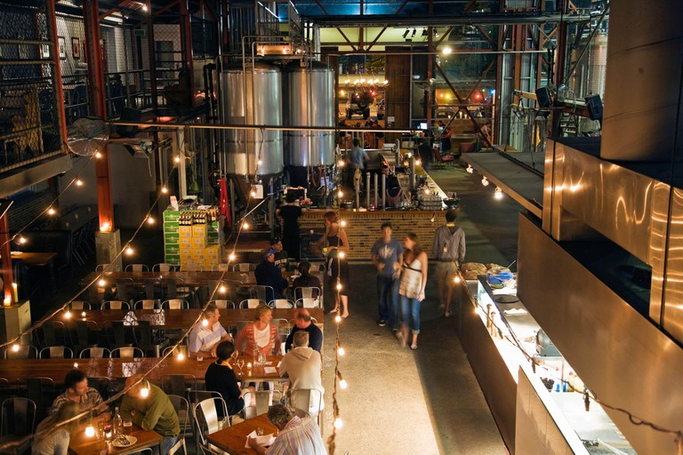 Little Creatures bar restaurant and micro brewery, Fremantle, Perth
