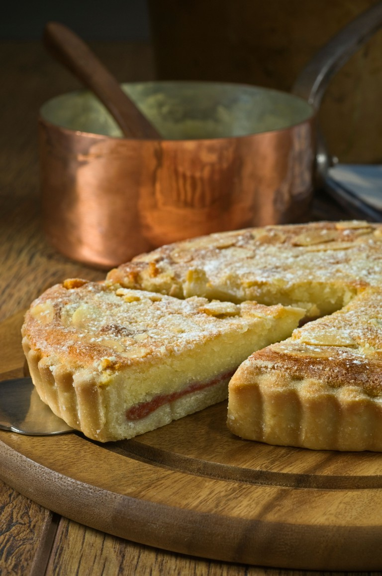 Bakewell tart Traditional dessert Food UK