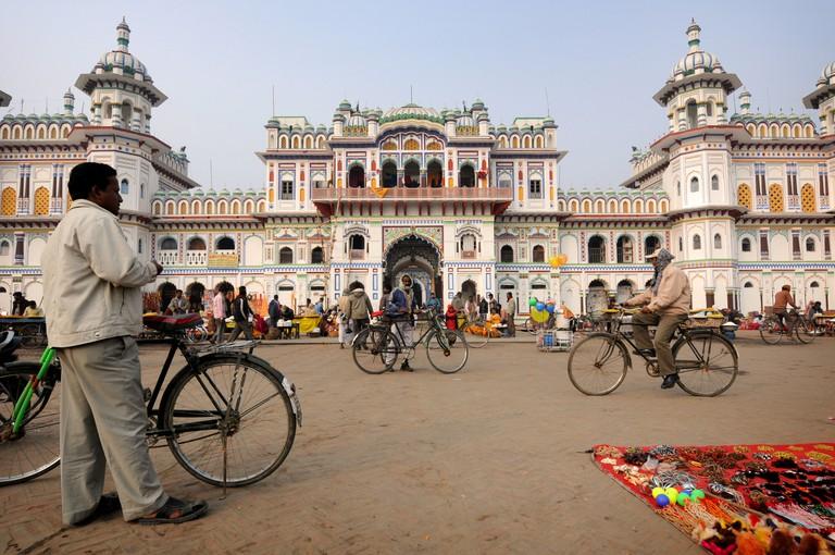 Janaki Mandir, Janakpur.