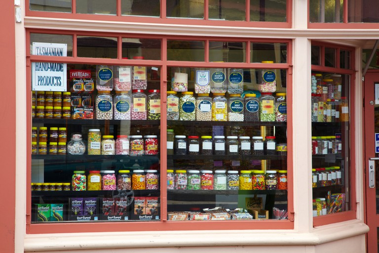 Old Fashioned Sweet Shop, Battery Point, Hobart