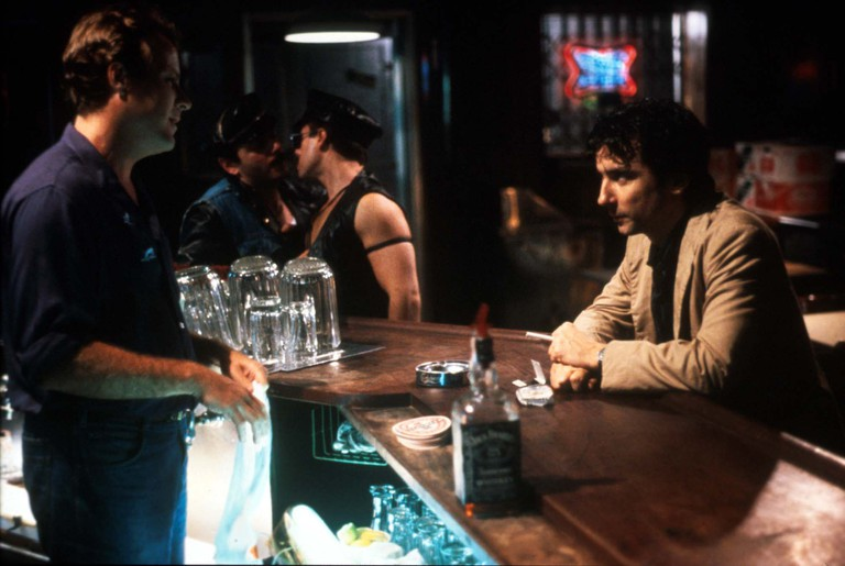After Hours  Year: 1985 USA Griffin Dunne ,John Heard  Directed by Martin Scorsese. Image shot 1990. Exact date unknown.