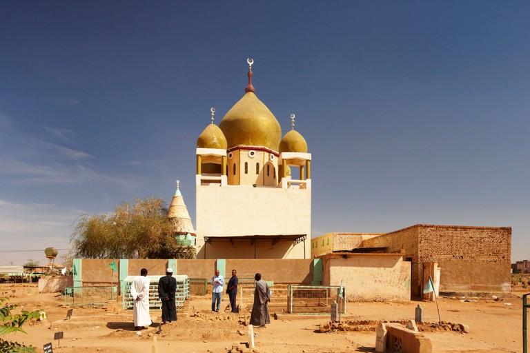 Hamad El Nil Tomb, Omdurman, Northern Sudan, Africa