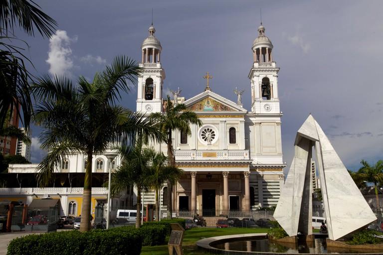 The church of Nazaree in Belem, Brazil