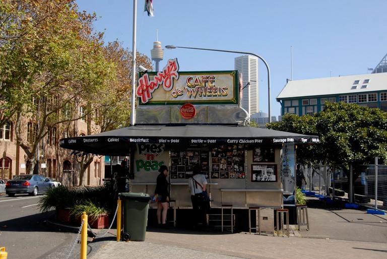 Harrys Cafe on Wheels in Woolloomooloo
