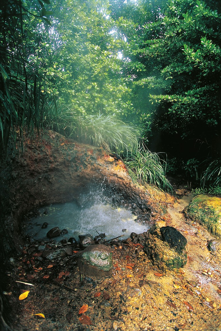 Sulfurous Springs WOTTEN Waven OF DOMINICA