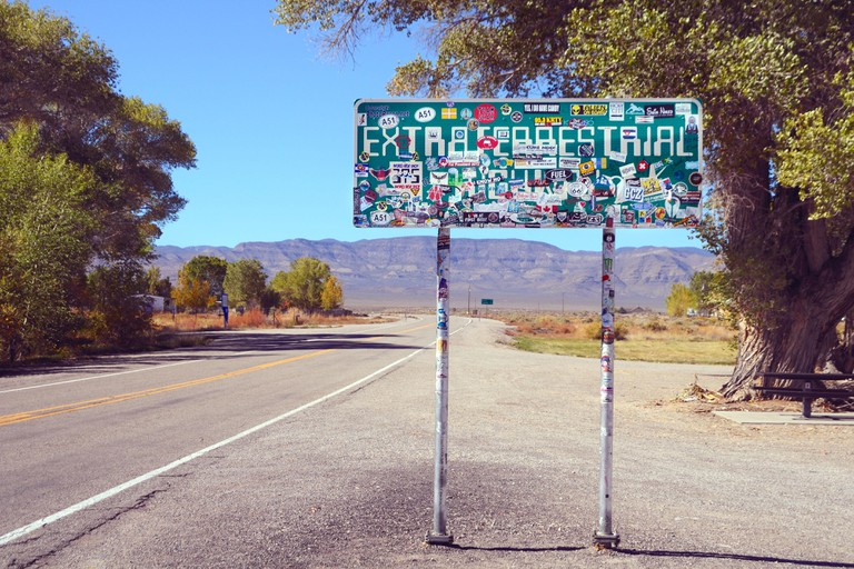 The Extraterrestrial Highway Nevada State Route 375 leads to Area 51 - and beyond!
