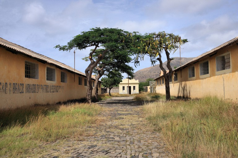Tarrafal Concentration Camp also called Campo da Morte Lenta (Camp of the Slow Death) on the island of Santiago, Cape Verde. Image shot 2012. Exact date unknown.