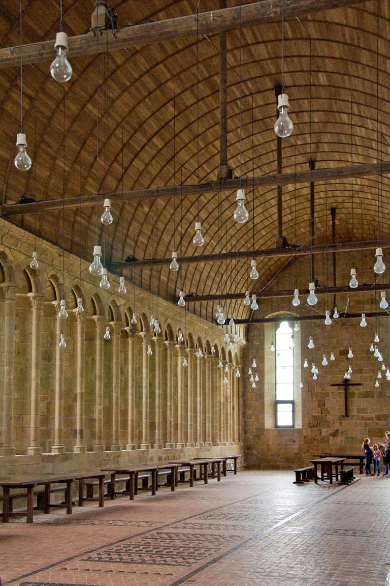 France,Normandy,Mont Saint Michel,Abbey of Mont Saint Michel