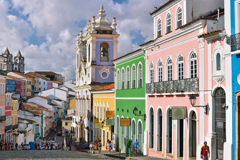 Brazil, Bahia: Historic center Pelourinho in Salvador da Bahia