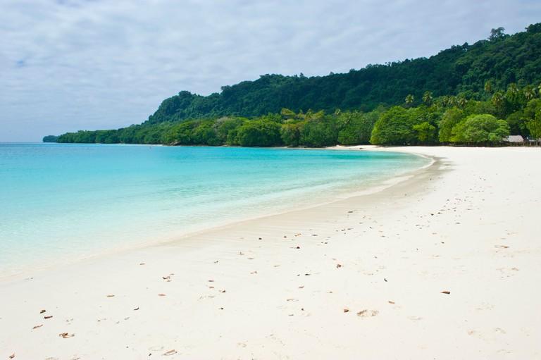 Champagne Beach, Espiritu Santo, Sanma Province, Vanuatu