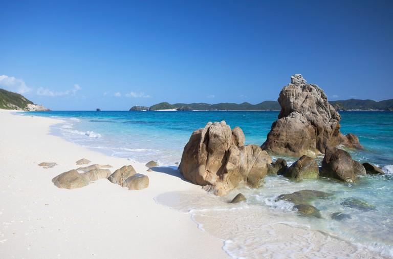 Nishibama Beach, Aka Island, Kerama Islands, Okinawa, Japan