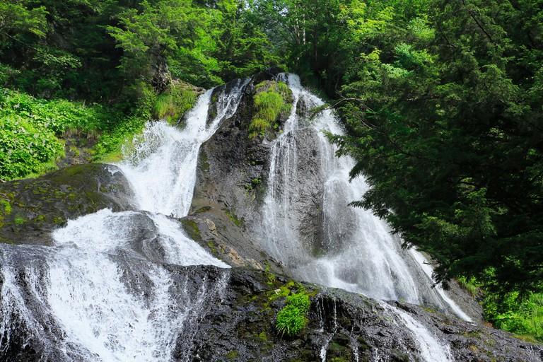 Sanbon, Nagano Prefecture, Japan.