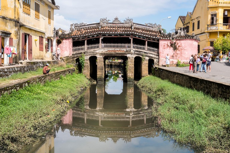 Japanese Covered Bridge , Hoi An , Vietnam