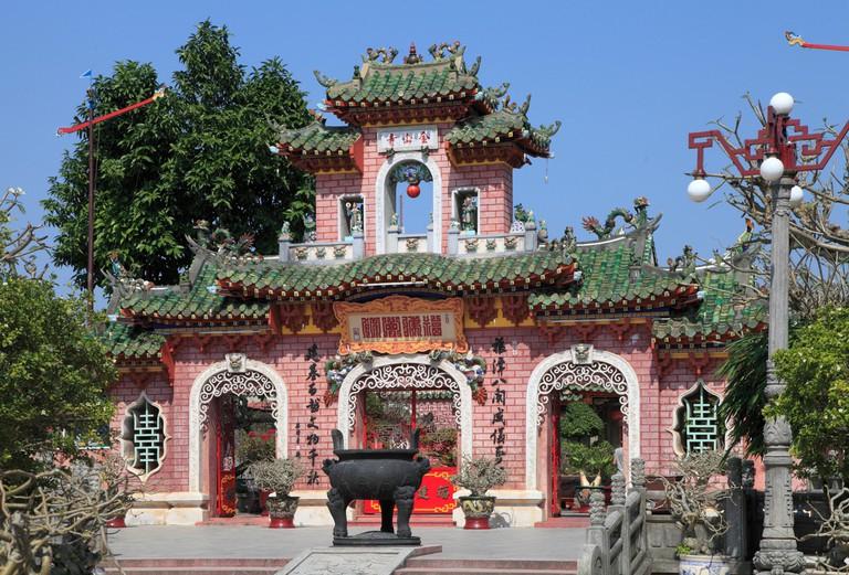 Fujian Assembly Hall, Hoi An, Vietnam.