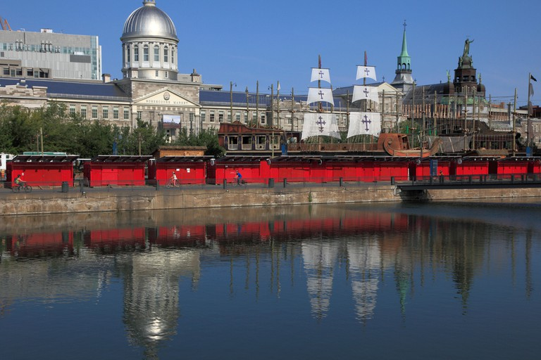 Canada, Quebec, Montreal, Old Port, Bonsecours Market,