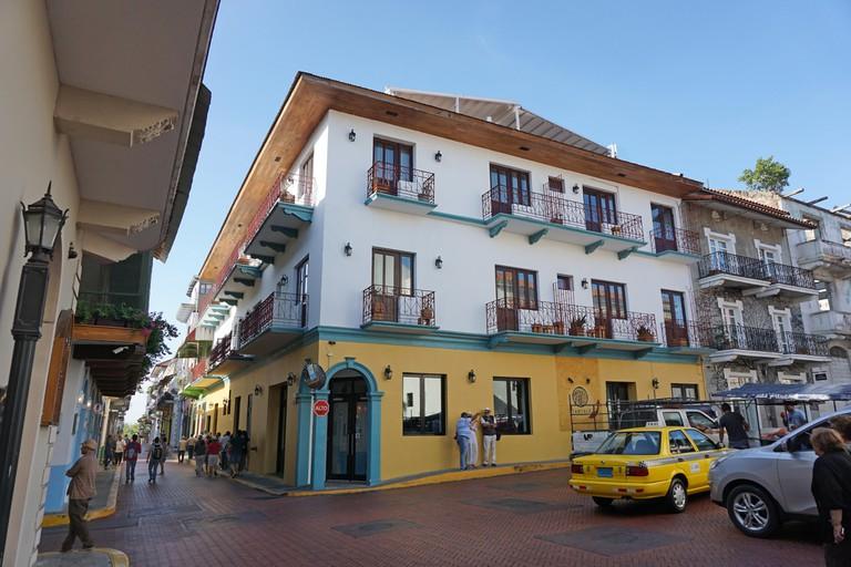 Panama city Panama colonial area casco viejo
