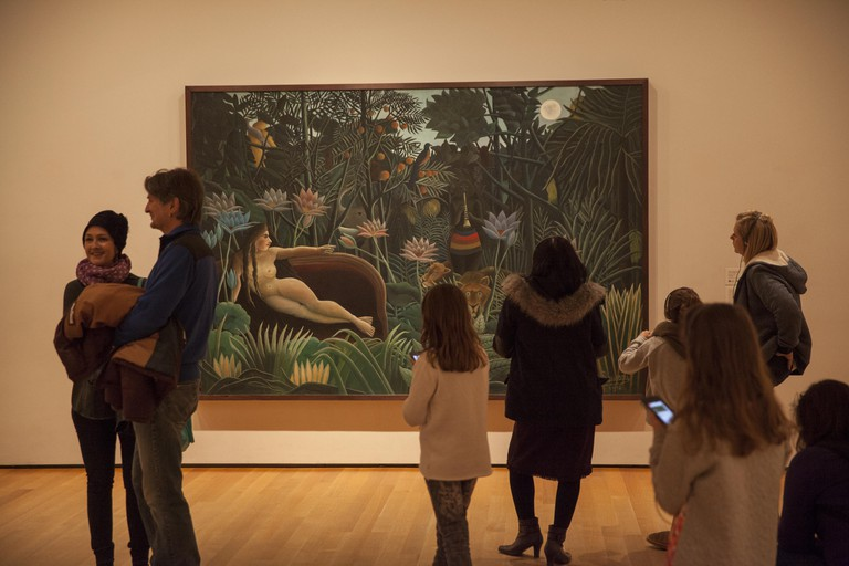 Henri Rousseau The Dream, 1910, Museum of Modern Art, New York City.