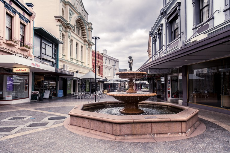 Launceston Tasmania Australia August 2018 Quadrant Mall