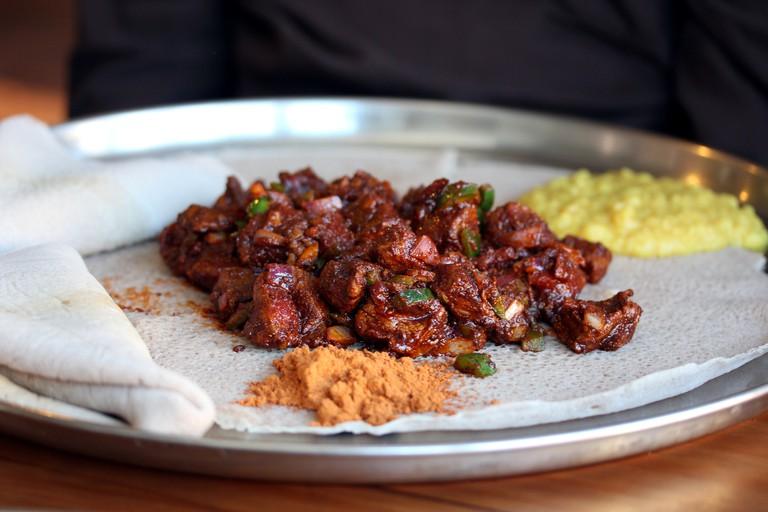 Ethiopian beef dish