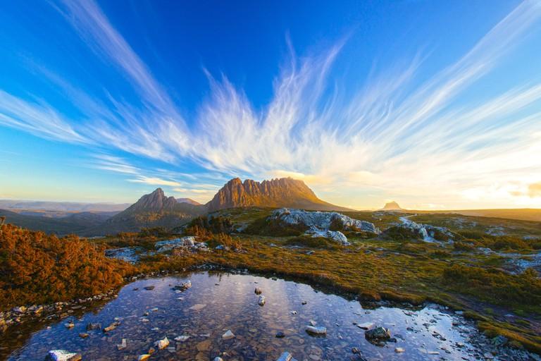 The Magic Cradle Mountain