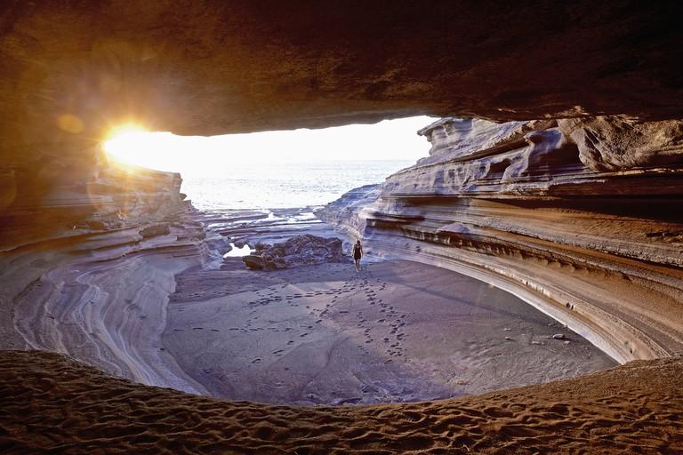 Grotto at sea, Praia, Santiago Island, Cape Verde