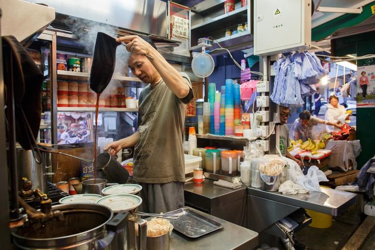 HONG KONG-LIFESTYLE-FOOD-DRINK-MILK-TEA