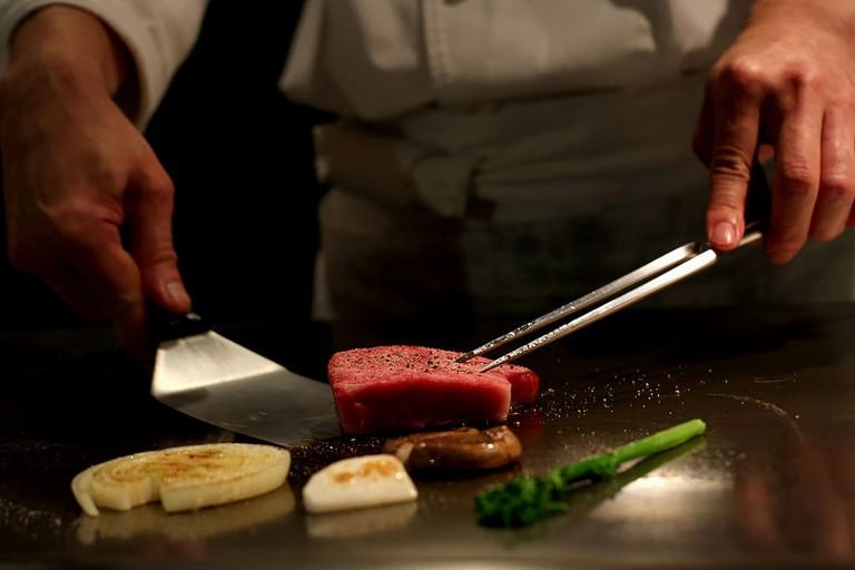 Typical Kobe Beef Restaurants In Kobe