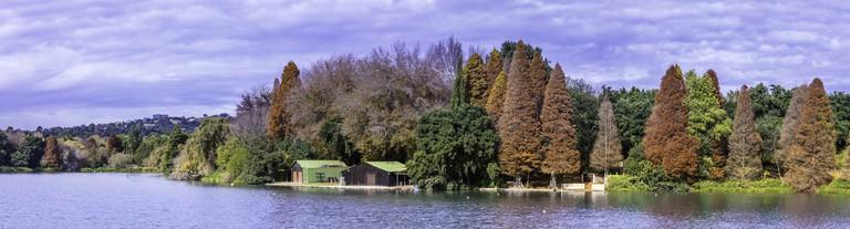 Emmerentia Dam at Johannesburg Botanical Gardens