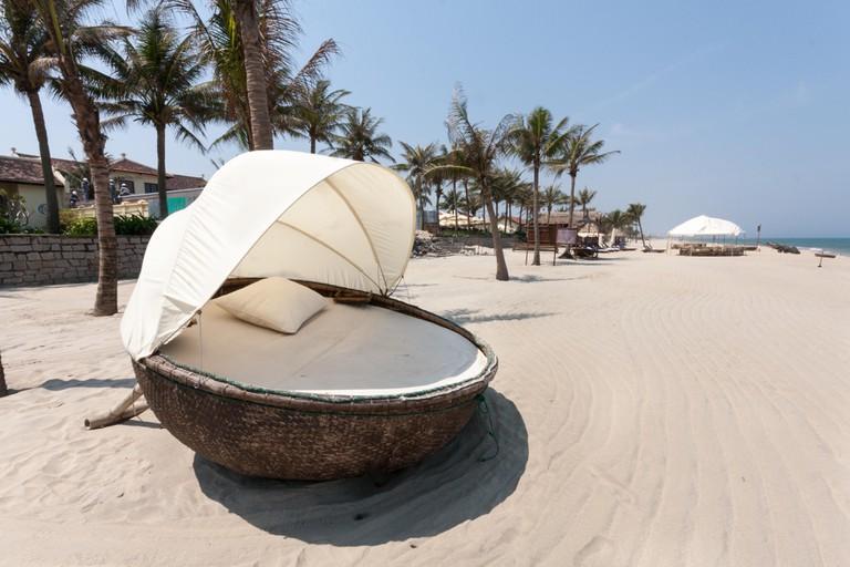 Cabana on An Bang beach, Hoi An, Vietnam