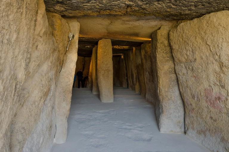 La Menga Dolmen, prehistoric burial chambers