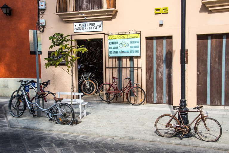 Bike rental in Oaxaca, Mexico