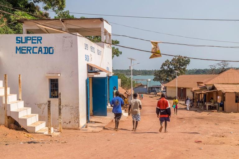 Guinee Bissau, Bijagos archipelago listed as Reserves Biosphere by the UNESCO, Bubaque island, National park of Orango